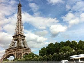埃菲尔铁塔得名于设计它的著名建筑师,结构工程师古斯塔夫·埃菲尔.图片